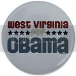 2366 West Virginia for Obama Large Button