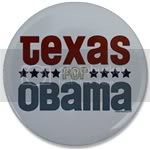 2477 Texas for Obama Large Button