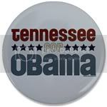 2246 Tennessee for Obama Large Button