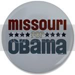 2288 Missouri for Obama Large Button
