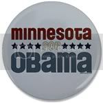 1690 Minnesota for Obama Large Button