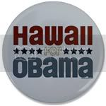 2298 Hawaii for Obama Large Button