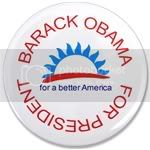 2192 OBAMA SHOPS 3.5&amp;quot; Button