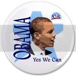 2096 OBAMA SHOPS 3.5&amp;quot; Button