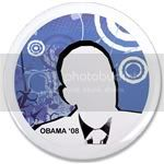 1539 OBAMA SHOPS 31 3.5&amp;quot; Button