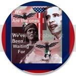 1497 We Are The Ones- Obama Hopi  3.5&amp;quot; Button