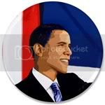 1657 Barack Obama 3.5&amp;quot; Button