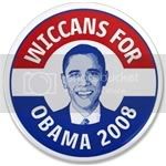 2299 Wiccans for Obama 3.5