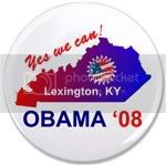 2414 OBAMA SHOPS 3.5&amp;quot; Button
