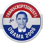 1579 Transcriptionist for Obama 3.5