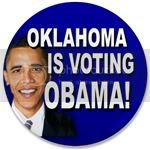 1818 Oklahoma Votes Obama 3.5