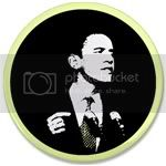 2483 OBAMA SHOPS 3.5&amp;quot; Button