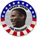 1688 Official 2008 Democratic Candidate's Button