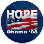 1681 OBAMA SHOPS 3.5&amp;quot; Button