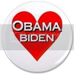 2418 OBAMA BIDEN HEART 3.5&amp;quot; Button
