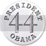 1450 President Obama button 3.5&amp;quot; button