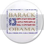 1833 Barack Obama Gold Flag 3.5