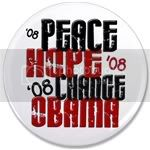 2147 Peace Hope Change Obama 2 3.5