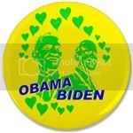 1865 Obama Biden - Feel the love 3.5&amp;quot; Button