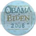 2377 Obama and Biden Election 3.5&amp;quot; Button