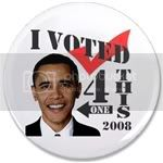 2185 I Voted 4 This One 3.5&amp;quot; Button