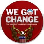 1563 WE GOT CHANGE Obama (Red Eagle) 3.5