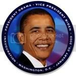 2389 Obama (Blue Smile) 3.5&amp;quot; Button