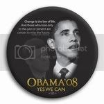 2989 &quot;Yes We Can&quot; Barack Obama / John F. Kennedy Button - 3&amp;quot;, BT22036