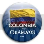3136 Columbia for Barack Obama Button - 2 -1/4&amp;quot;, BT23507