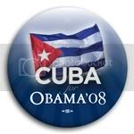 3137 Cuba for Barack Obama Button - 2 -1/4&amp;quot;, BT23508