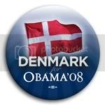 3139 Denmark for Barack Obama Button - 2 -1/4&amp;quot;, BT23510