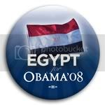 3140 Egypt for Barack Obama Button - 2 -1/4&amp;quot;, BT23511