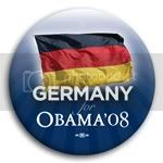 3144 Germany for Barack Obama Button - 2 -1/4&amp;quot;, BT23515