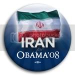 3149 Iran for Barack Obama Button - 2 -1/4&amp;quot;, BT23520
