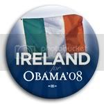 3152 Ireland for Barack Obama Button - 2 -1/4&amp;quot;, BT23523