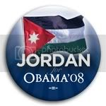 3076 Jordan for Barack Obama Button - 2 -1/4&amp;quot;, BT23526