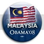 3079 Malaysia for Barack Obama Button - 2 -1/4&amp;quot;, BT23529