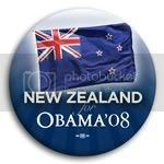 3081 New Zealand for Barack Obama Button - 2 -1/4&amp;quot;, BT23531