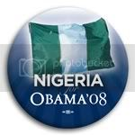 3082 Nigeria for Barack Obama Button - 2 -1/4&amp;quot;, BT23532