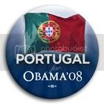 3088 Portugal for Barack Obama Button - 2 -1/4&amp;quot;, BT23538
