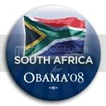 3091 South Africa for Barack Obama Button - 2 -1/4&amp;quot;, BT23541