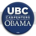 3170 UBC for Barack Obama Button - 2 -1/4&amp;quot;, BT23876