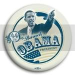 2968 Barack Obama President Photo Button - 3&amp;quot;, BT24579