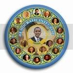 3006 Obama Democratic Integrity Button - 3&amp;quot;, BT26396