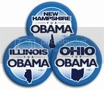 2995 &quot;Your State&quot; for Barack Obama Button - 2 -1/4&amp;quot;, BT26760