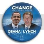 3036 Obama and Lynch Photo Button - 3&amp;quot;, BT29233