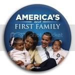 2985 America's Next First Family Photo Button - 3&amp;quot;, BT29512