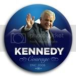 3003 Ted Kennedy &quot;Courage&quot; DNCC Photo Button -  2-1/4&amp;quot;, BT29637