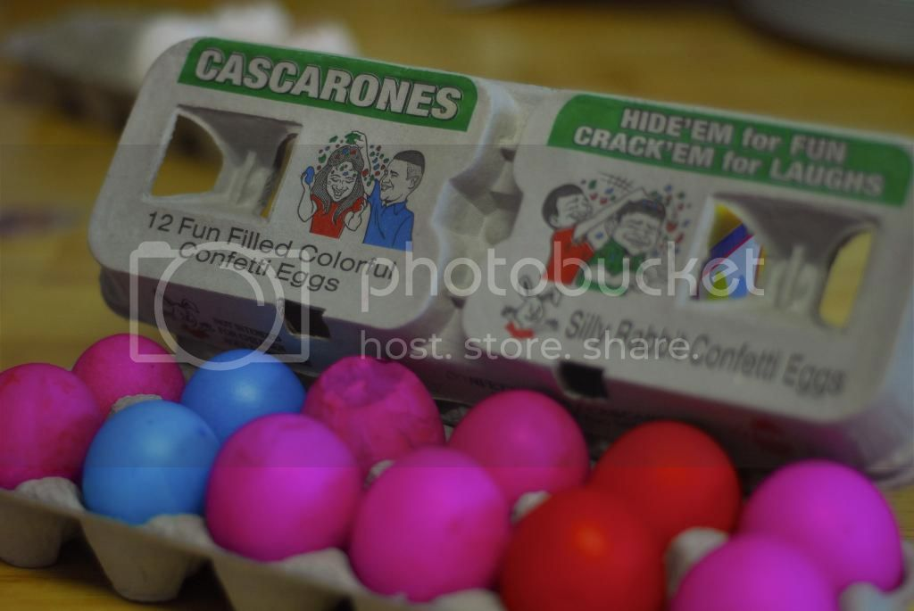 how to make cascarones