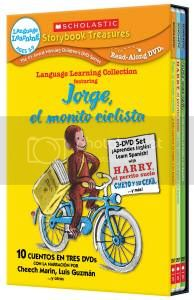 Scholastic Curious George Spanish second language
